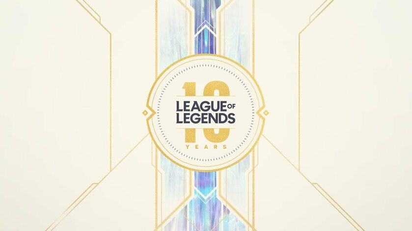 Grafika na 10-lecie League of Legends