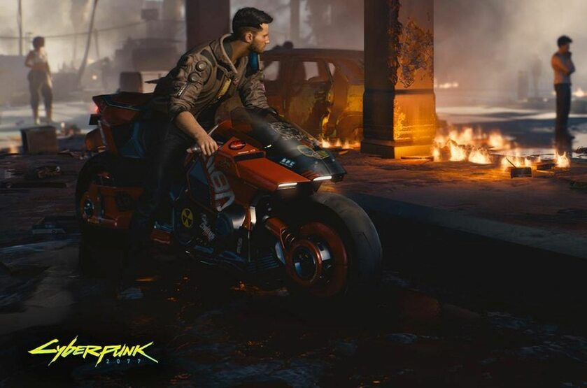 Screen z gry Cyberpunk 2077