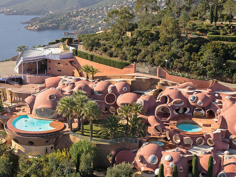 Palais Bulles (The Bubble Palace) k. Cannes, Francja – 385 mln dolarów